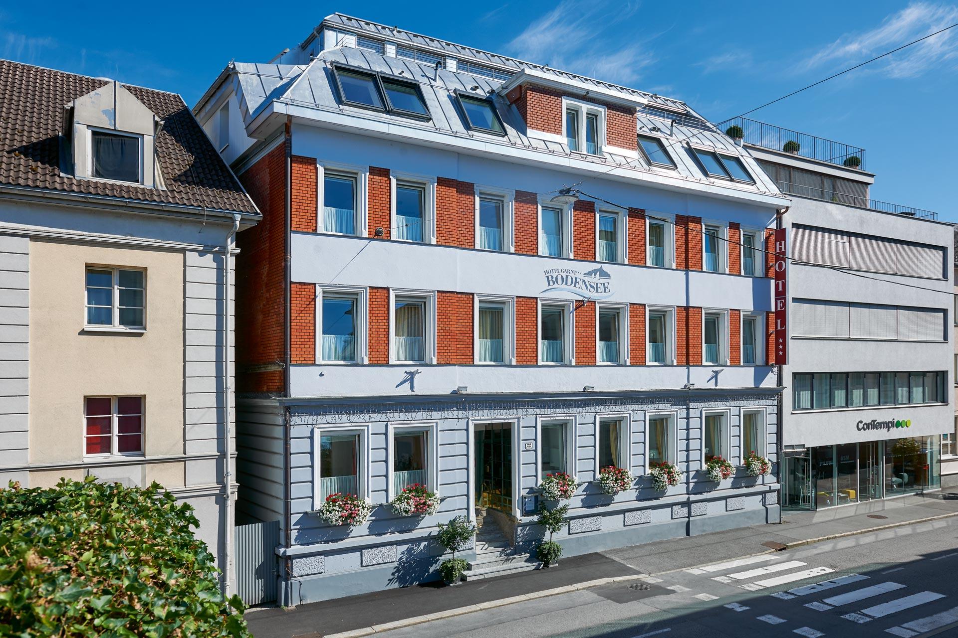 Welcome In The Center Hotel Garni Bodensee In Bregenz